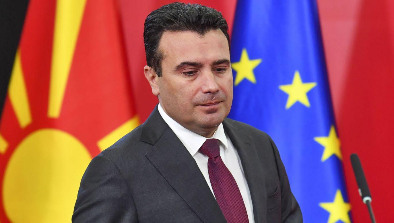"""""""Potraktowano nas niesprawiedliwie. Jestem rozczarowany i oburzony"""" – mówi Zoran Zaew (fot. PAP/EPA/GEORGI LICOVSKI)"""