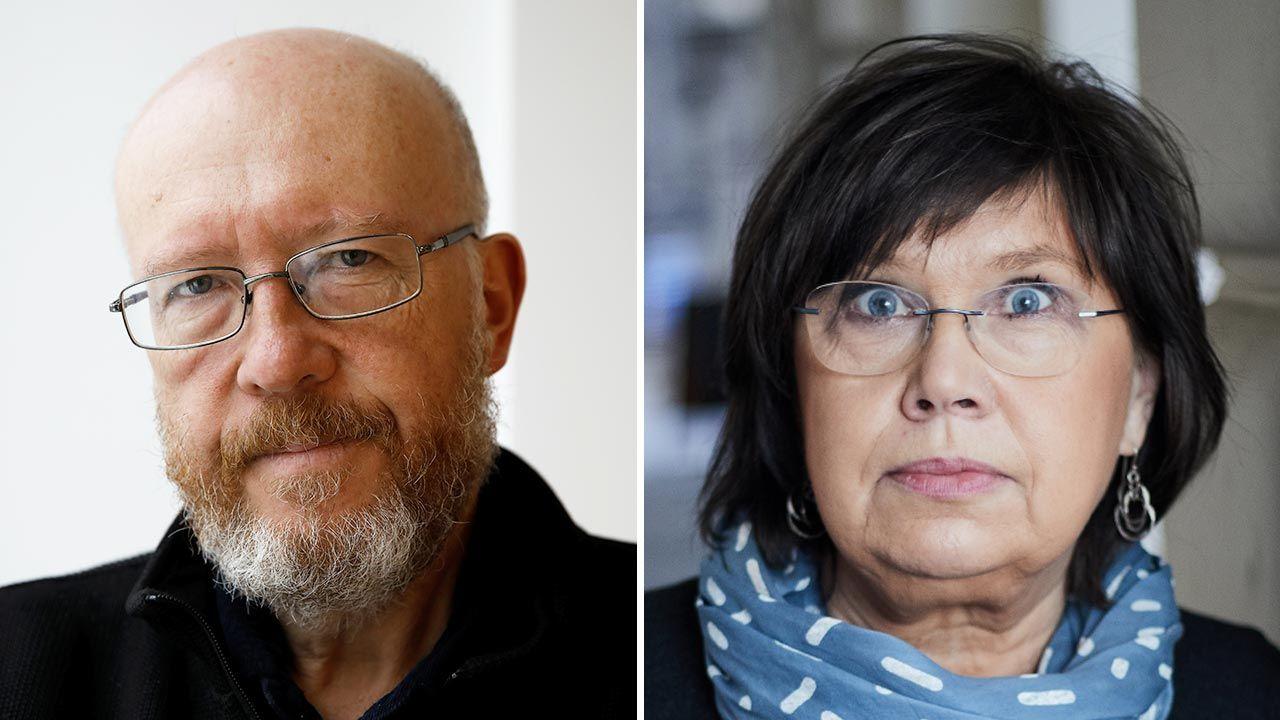 Historyk Jan Grabowski i socjolog Barbara Engelking (fot. Forum/KACPER PEMPEL; Maciej Zienkiewicz)